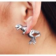 Élégant Dinosaur 3D Boucles d'oreilles animaux