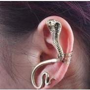 rétro Indien Twining Serpent En forme de Boucle d'oreille clips