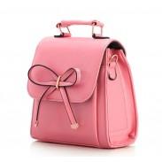 Nouveau élégant bowknot bonbons multicolores sac à main et sac à bandoulière