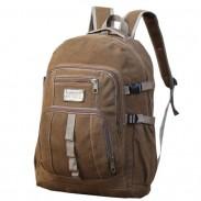 Sac à dos de sport de voyage en toile de camping grand rétro de 50 litres en plein air sac à dos d'escalade