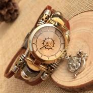 Mode Escargot Charme Cuir Bracelet Regardez