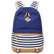 Sac à dos d'écolière rayé frais de voyage de sac à dos d'école de sac à dos