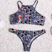 Triangle Sexy Bikini Set Swimsuit Push-up Beach Bathing Suits For Women