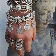 Bracelet de cheville de plage glands vintage style cheville pièce glands