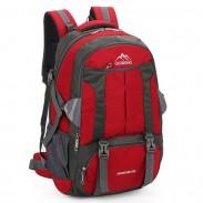 Sac sport de grande taille 60 litres extérieur sac à dos de voyage en nylon imperméable sac à dos d'escalade