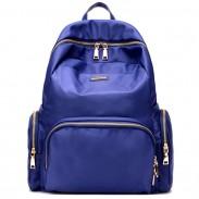 Sac à dos de couleur imperméable à l'eau de Oxford de couleur de sac à dos de fille de grande capacité de loisirs