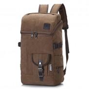 Sac à dos de tambour de toile d'alpinisme de loisir extérieur grand sac à dos de sport de sac à dos de voyage