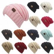 Bonnet tricoté pour femme Bonnet toasty Bonnet chaud en laine et bonnet CC