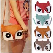 Retro Owl Fox  Messenger Handbags