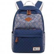 Le sac à dos en toile épaisse de sac à dos de couleur d'étudiant de couleur de contraste d'étudiant du sac à dos unique de fille