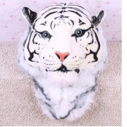 Unique Dimensional Simulation Tiger Tête d'un animal à dos