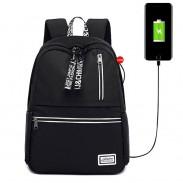 Sacs à dos d'école pour femmes adolescentes sac de livre résistant à l'eau Port de charge USB sac à dos pour ordinateur portable