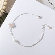 Copines fraîches Cadeau Accessoires Femmes Bracelet Fleurs Personnalité Bracelet De Cerise