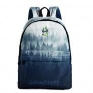 High School Bag High Blue Tree Tree peinture sac à dos grand sac à dos