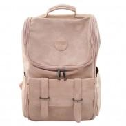 Sac à dos étudiant souple en PU avec un grand sac à dos pour fille