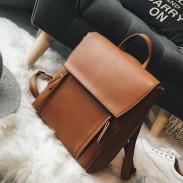 Retro élégant grand sac à bandoulière multi-fonction étudiant sac à dos scolaire