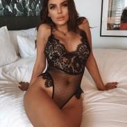 Cils sexy en dentelle jumpsuit feuilles noires évider lingerie femmes