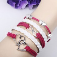 Bracelet infini âme soeur romantique