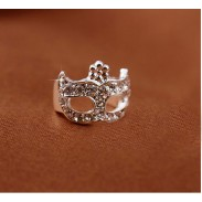 Bien faux diamant Mascarade Unique Des boucles d'oreilles Agrafe