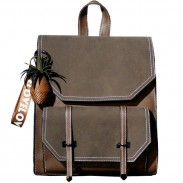 Rétro sac à bandoulière carré sac à bandoulière Lady College sac à dos