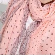 Écharpe longue en voile d'hiver pour femmes
