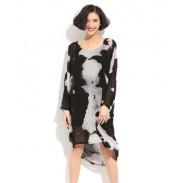 Nouveau Mode style Irrégulier La perspective Robe