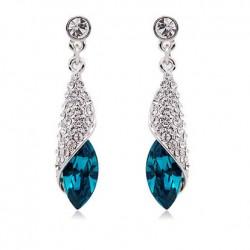 Mlle Mer Mode élégante oreilles en cristal