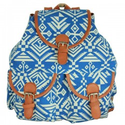 Rétro Géométrie animaux Prints Folk Backpack