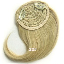Blond Colors Available Fashion Synthetic  Side Bangs