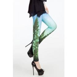 Fashion Universe Galaxy Starry Printing Leggings