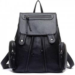 Sac à dos en cuir sac à bandoulière sac à dos de voyage