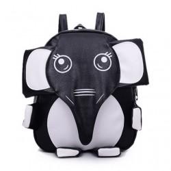 Super Mignon Panda l'éléphant Kitten-forme Sac école mixte couleurs à dos
