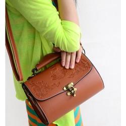 Style Coréen Palais Imprimé Sac à main et sac à bandoulière