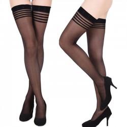 Chaussettes pour femmes Sexy Net Sling Suspender Lingerie