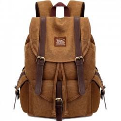 Sac de camping rétro multifonctions randonnée école de voyage sac à dos grands sacs à dos en toile épaisse