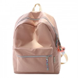 Fresh Simple High School Bag Young Waterproof Oxford Student Backpack