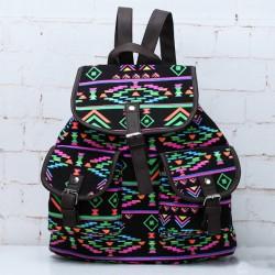 Sacs à dos uniques de pattern Style Totem national