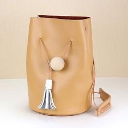 Créatif facile rétro Cuir Épaule Bucket Bag & Sac d'épaule