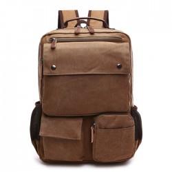 Loisirs Multi poches Sac à dos extérieur Sac à dos pour homme Sac à dos pour ordinateur portable étudiant