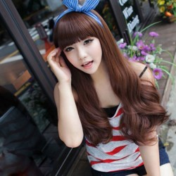 Fashion Cosplay Sweet Wavy Hair Wigs