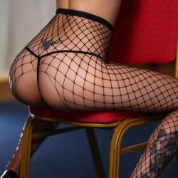 Poisson Sexy Pantalon Ouvert Jumpsuit Bas Femmes Lingerie