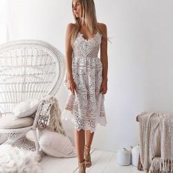 Robe de soirée sans bretelles pour femmes