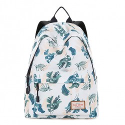 Sac d'ordinateur portable frais fille enfant sac d'étudiant ados sac à dos voyage feuille de banane sac à dos d'école