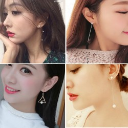Boucles d'oreille linéaires uniques