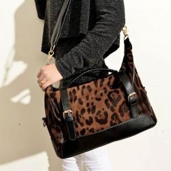 Mode Leopard Sexy Sac à main et sac à bandoulière