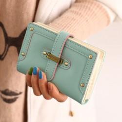 Mode Dessin animé Lady étudiants Wallet & Pochette