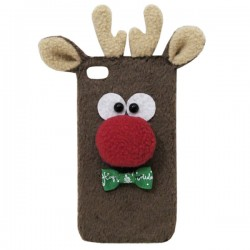 Noël Deer animaux Iphone Cases pour 5 / 5s / 6 / 6s