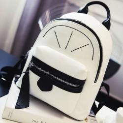 Sac à dos Shopping Mini PU sac à dos mignon couleur fille petit sac à dos