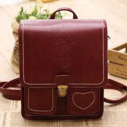 Couronne Retro Heart-Shaped sacs d'école