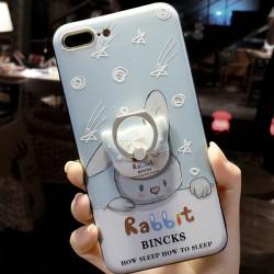Étoiles filantes de lapin doux Iphone 6 / 6s / 6 plus / 6s plus / 7/7 plus des cas iphone